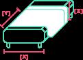Calcular cantidad de tela para cama de decoración