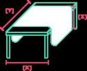 Calcular cantidad de tela para mantel de decoración
