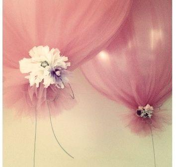 Decorar con tela tul tu fiesta de cumpleaños o casamiento
