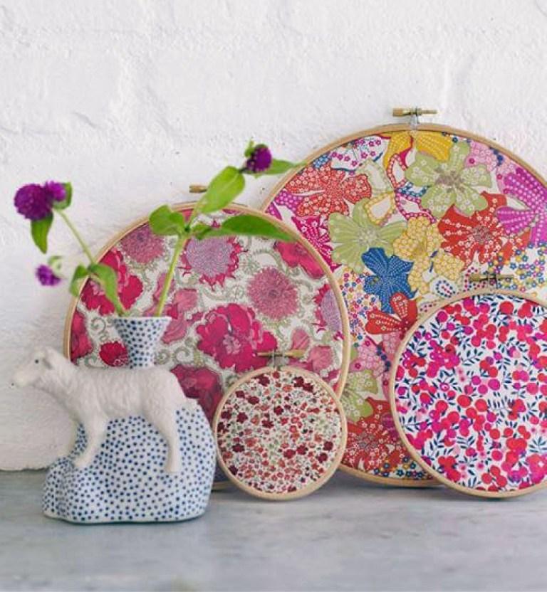 Hace cuadros con telas para decorar tu casa blog - Telas para decorar ...