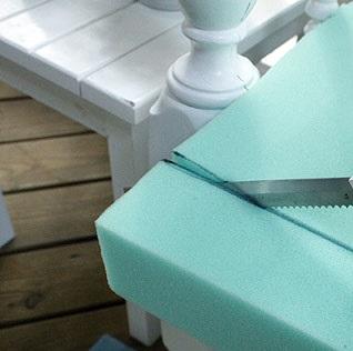 como fabricar un almohadon de sillon