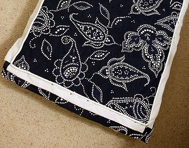 funda de almohadon de telas para sillon