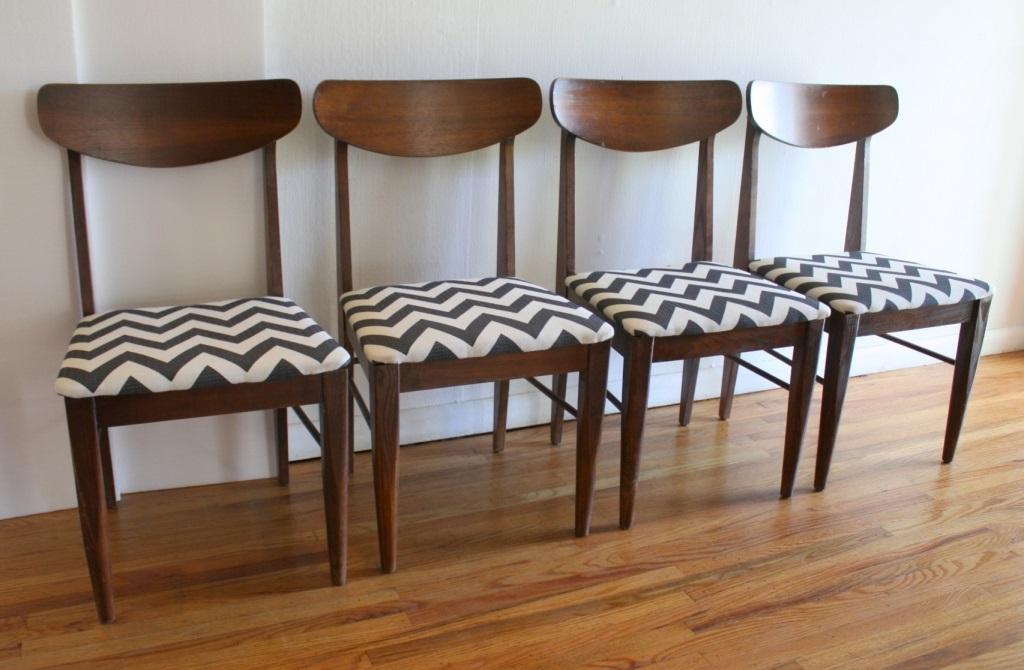 C mo tapizar una silla paso a paso con telas modernas - Telas de terciopelo para tapizar ...