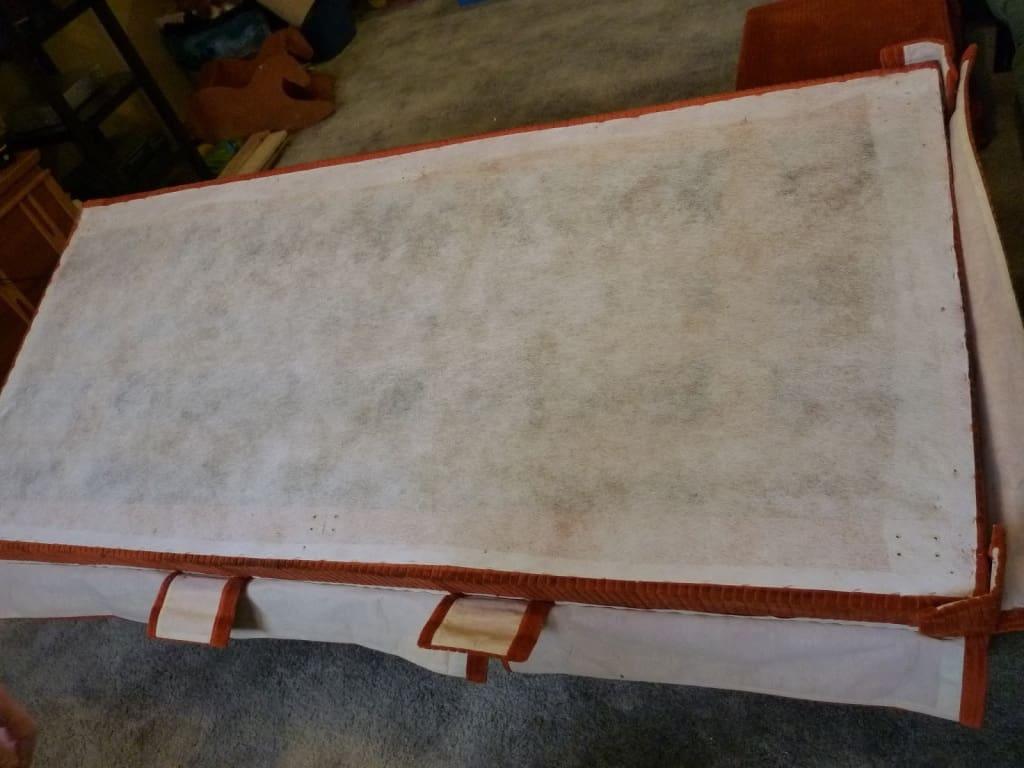 parte de atrás sillón para tapizar