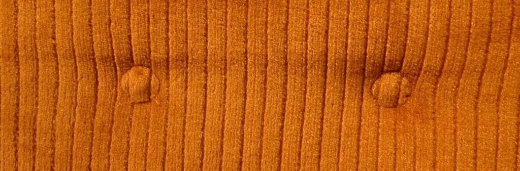 sistema de sujeción de botones de sillón para tapizar
