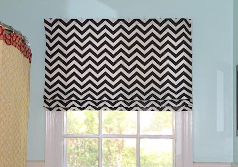 Cómo hacer cortinas romanas