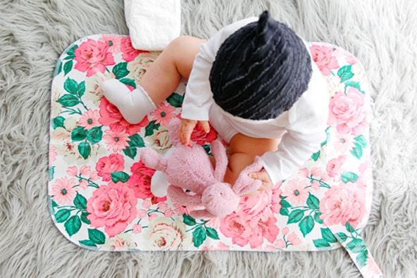 Cómo hacer un cambiador de bebes