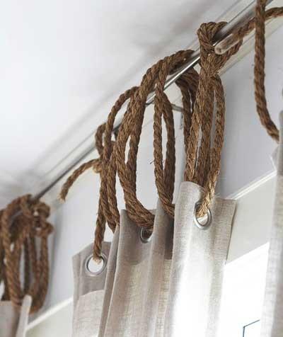como hacer cortinas para barral