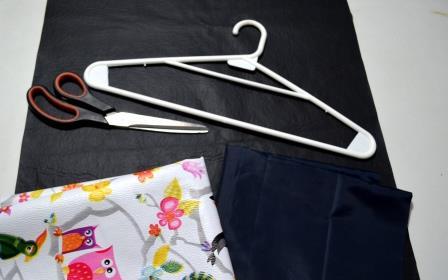 Materiales para hacer una pizarra de tela