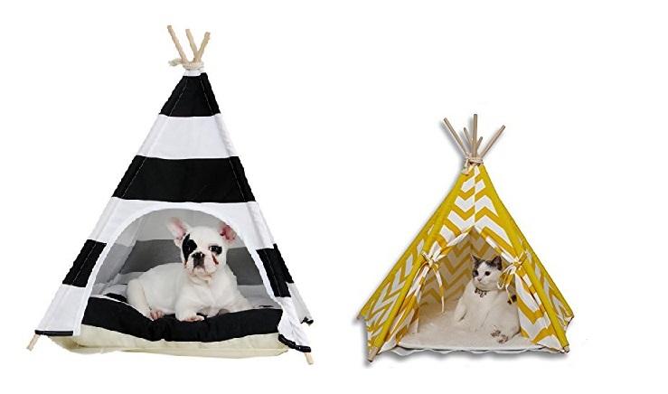 Carpa Tipi para perro y gato y mascota