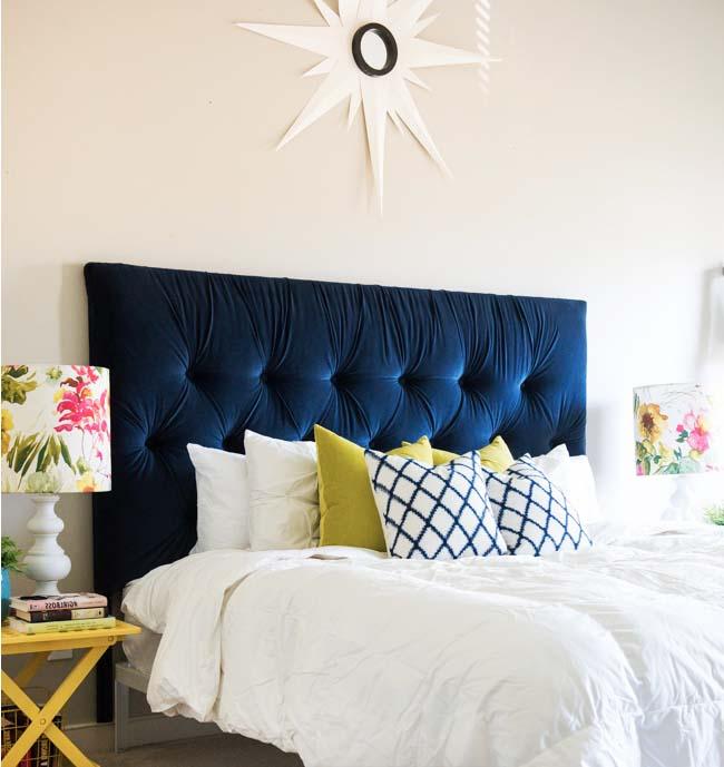 Cómo hacer un respaldo de tela para tu cama