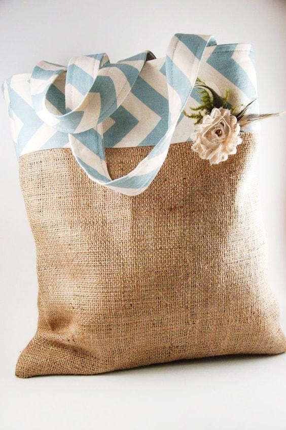 bolsa ecológica de arpillera