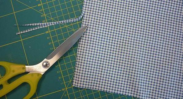 corte de tela para bolsa ecológica