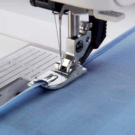 costura del fular de tela