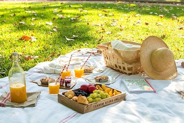 Cómo realizar una lona para picnic
