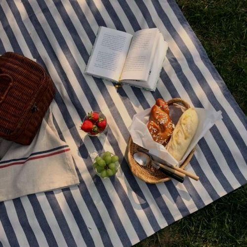 Lona de picnic terminada