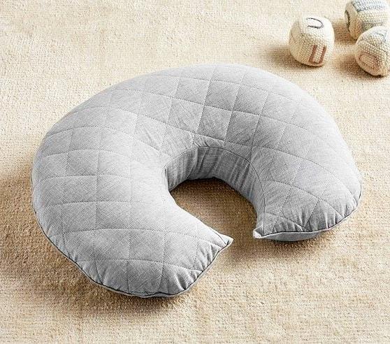 almohadon para amamantar con tela pique