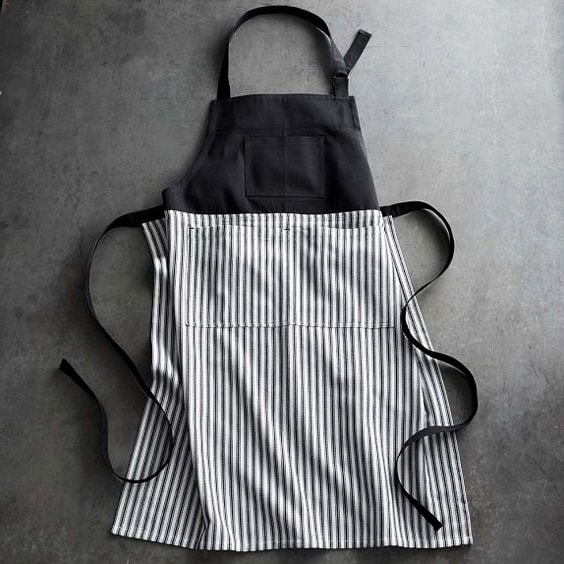 How to make a fabric apron