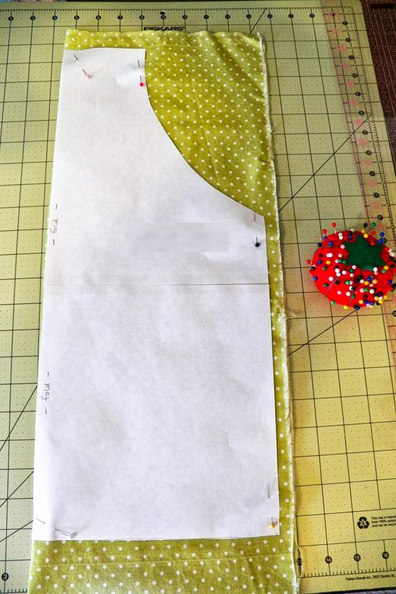 fabric cut for apron