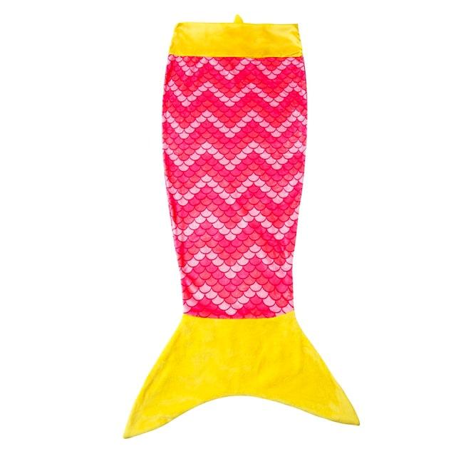 manta con cola de sirena de towel