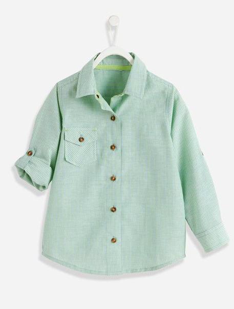 camisa de tela extra tip
