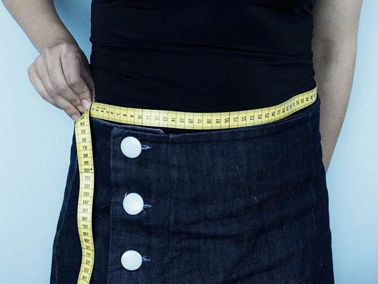 medidas para falda de tela