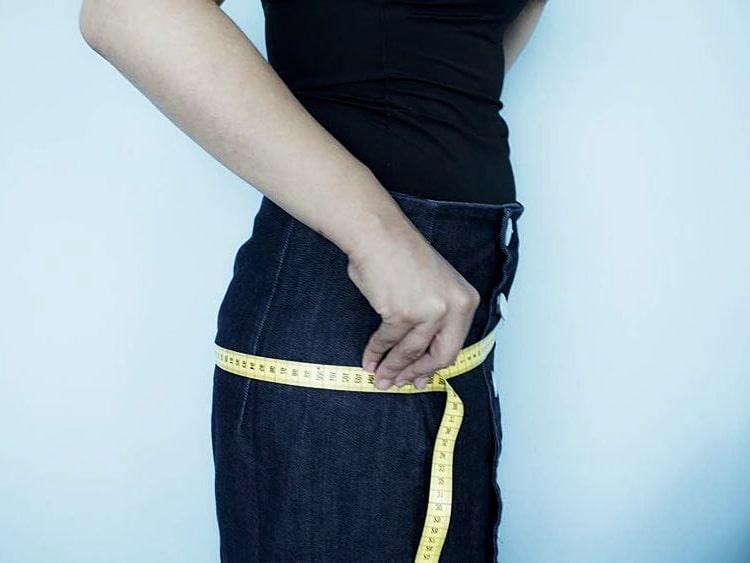 medidas de la cadera para falda de tela