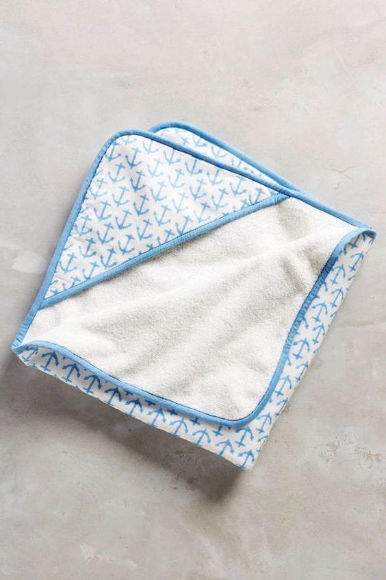 toalla con capucha de tela extra tip