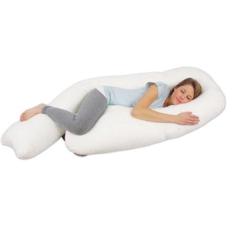 almohadón de tela para embaraza listo