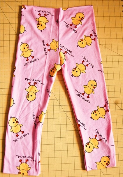 corte de tela para pantalón de pijama