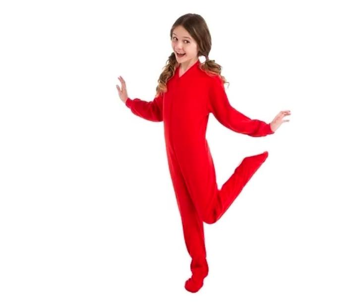 pijama de tela entero para niño