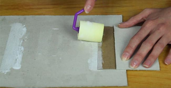 pegado de rectangulos para funda de celular de tela