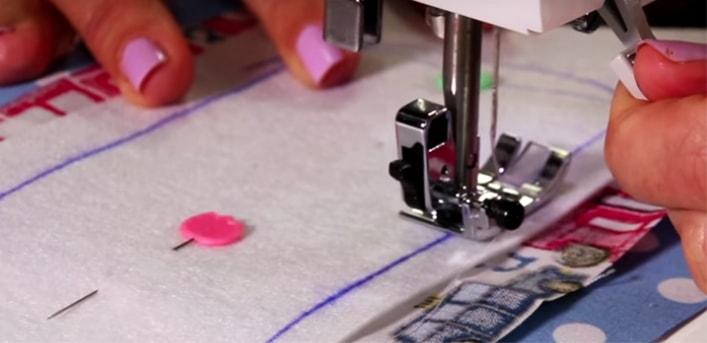 costura de telas para funda de cables