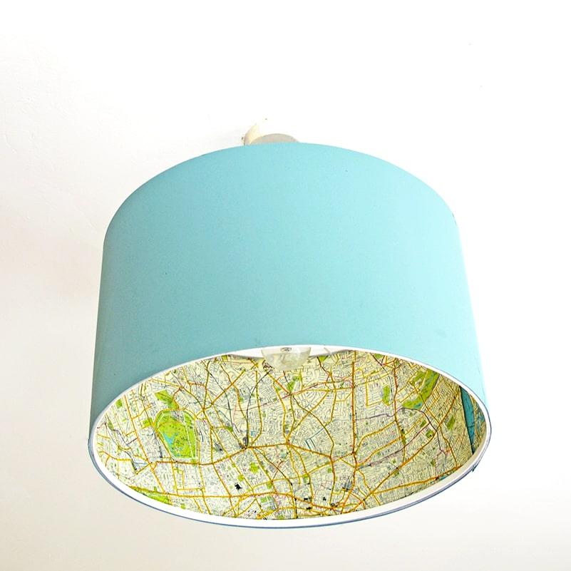 pantalla de tela para lampara extratip