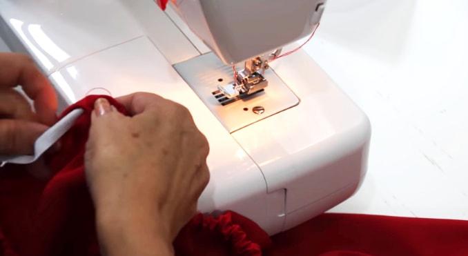 ajuste de elastico para bluda de tela