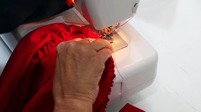 cierre de elastico para bluda de tela
