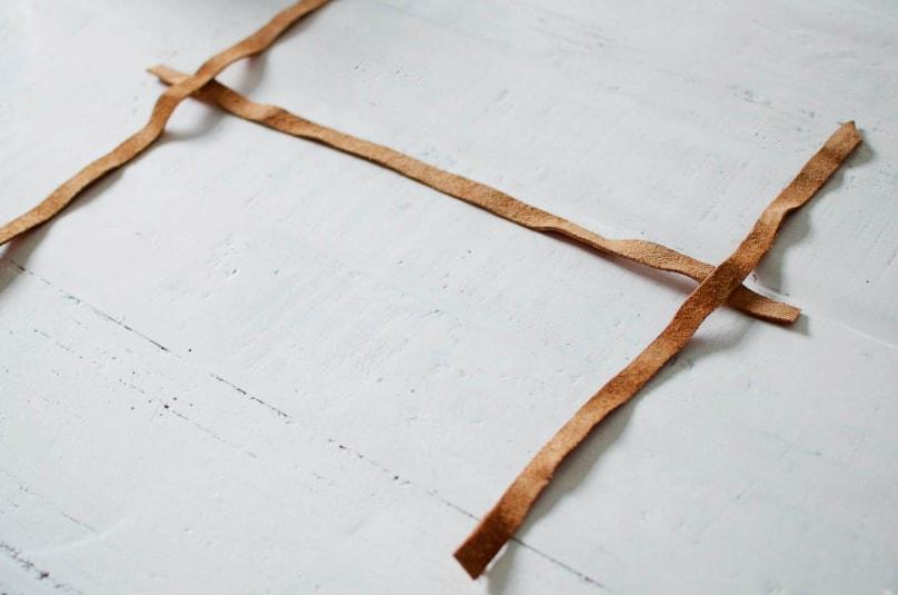 colocación y pegado de tela para correas