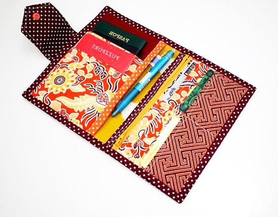 porta pasaporte de tela extratip