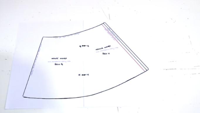 unión de patrones para blusa de tela3