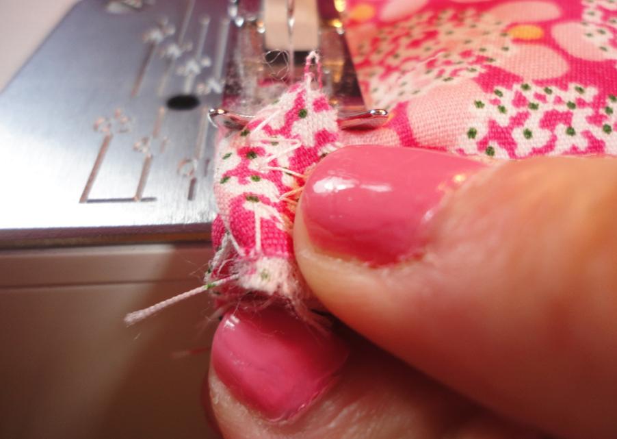 costura de telas para manopla
