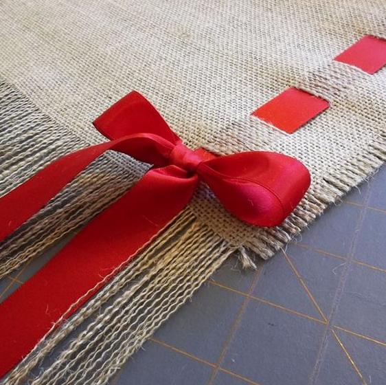 individual navideño de tela extratip