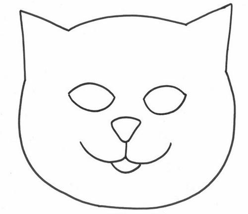 patrón para almohadón de gato de tela