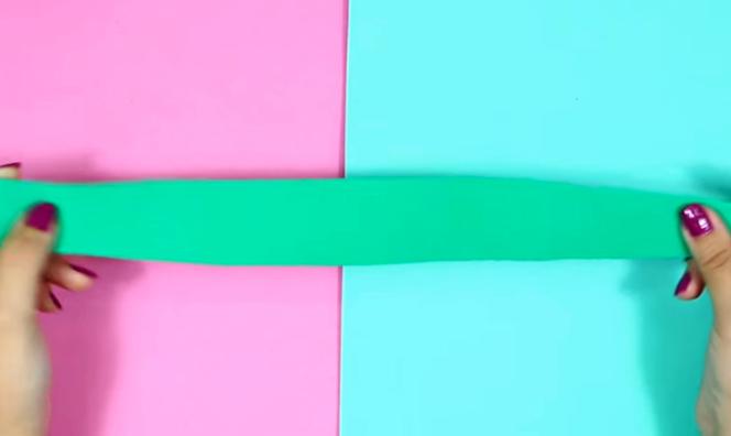 corte de telas para la sección inferior de la cartuchera de sandia