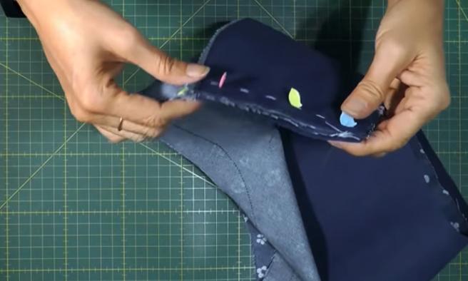unión de extremos para sombrero de tela