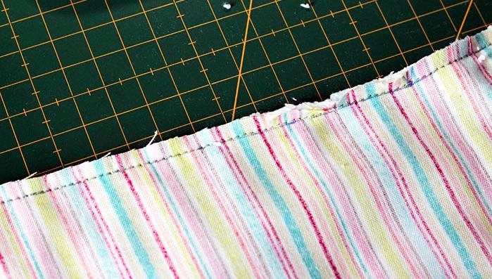 costura de tela para bandana