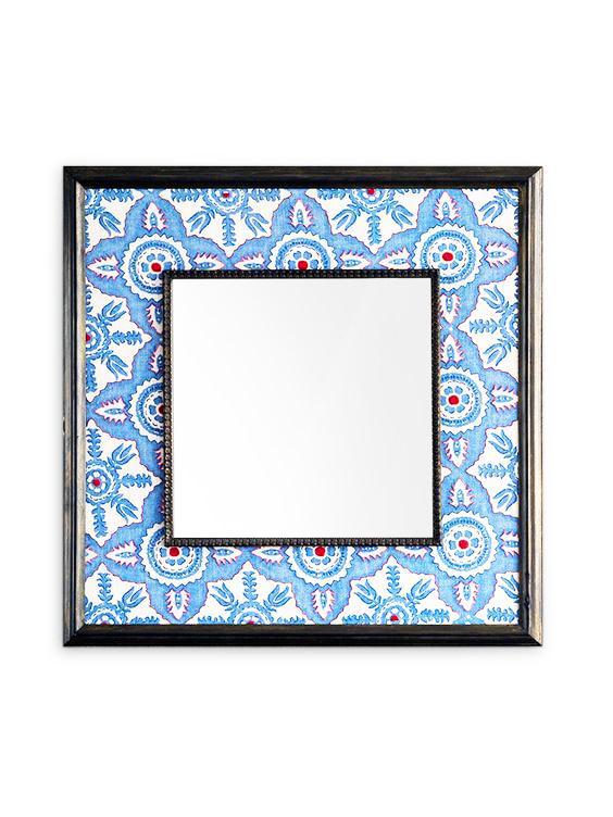 espejo con marco de tela extratip
