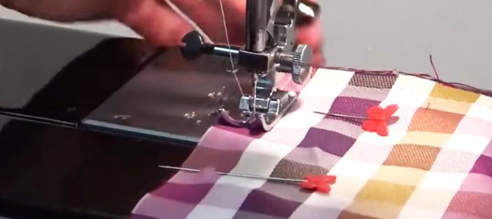 costura de telas para porta cubiertos