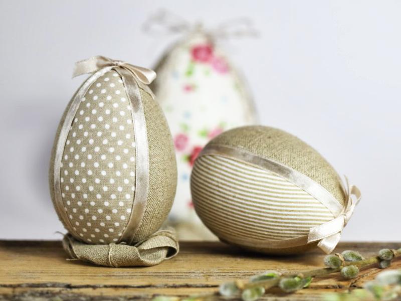 huevo de pascua de tela extratip