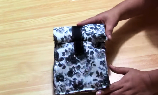 lonchera de tela termianda