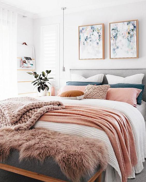 pie de cama de tela extratip
